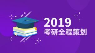 2019考研全程策划(张严)